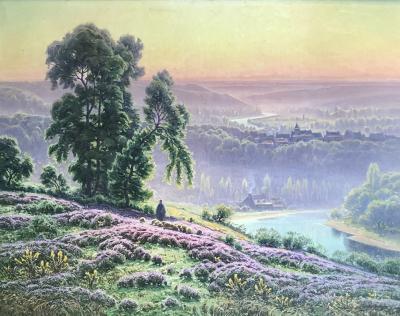William Didier Pouget Bruyeres sous la rosee Vallee de la Correze