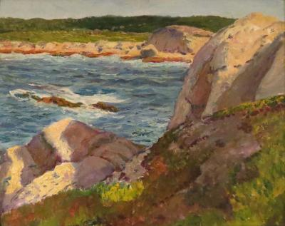 William Edward Bloomfield Starkweather The Inlet Painted at Peggy s Cove
