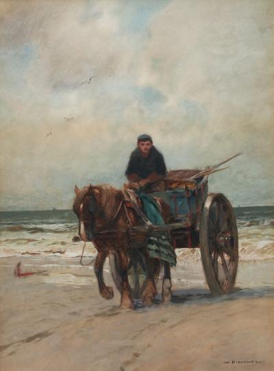 William F Ritschel Kelp Gatherer