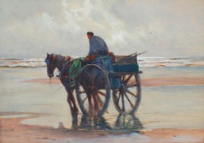 William F Ritschel Kelp Gatherer Holland