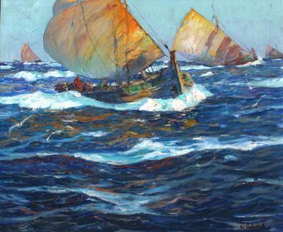 William Frederick Ritschel Return from the Catch