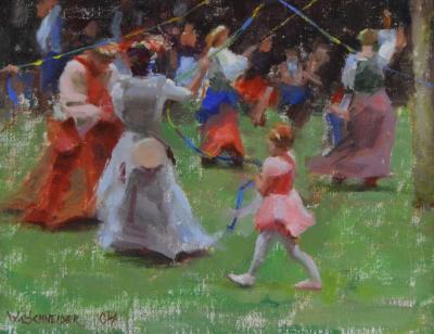 William G Schneider Maypole Dance