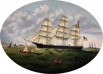 William Gay Yorke Clipper Ship SPIRIDION