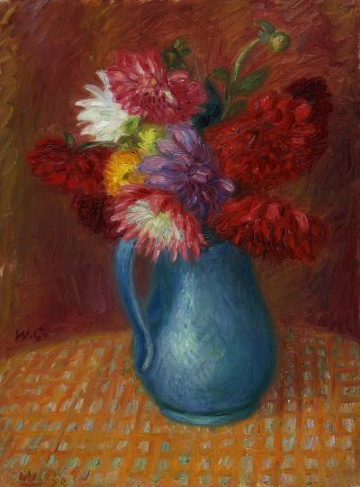 William Glackens Blue Pitcher