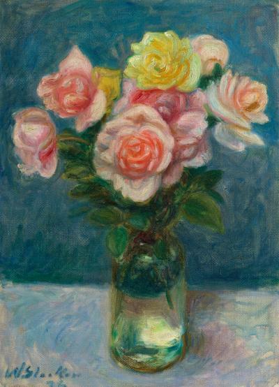 William Glackens Roses