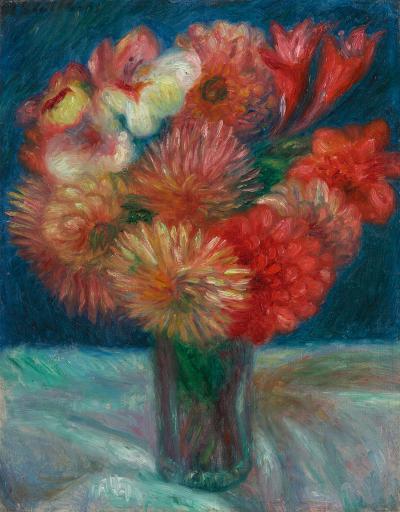 William Glackens Vase of Flowers