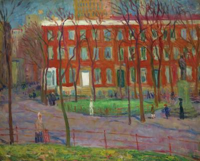William Glackens Washington Square