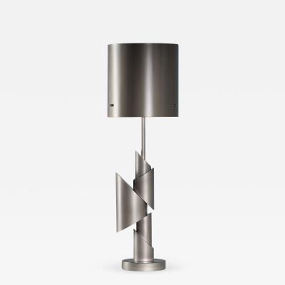 William Guillon KRS III Table Lamp Signed William Guillon