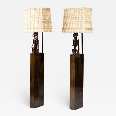 William Haines Hall Pair of William Haines Armature Floor Lamps