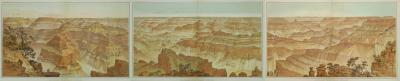William Henry Holmes Panorama of the Grand Canyon
