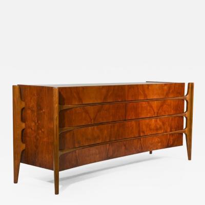 William Hinn William Hinn Walnut Sculptural Dresser