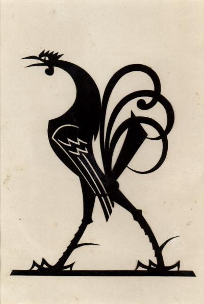 William Hunt Diederich Cock Facing Left