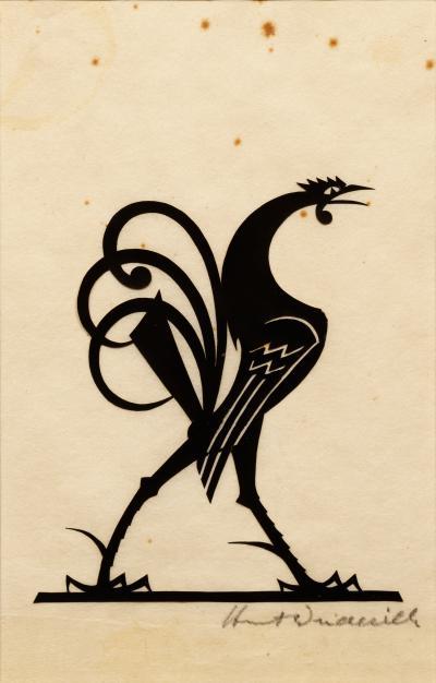 William Hunt Diederich Strutting Rooster
