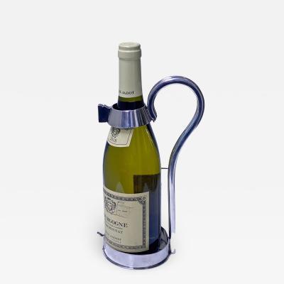 William Hutton Antique Silver plate Wine Bottle Holder C 1890 William Hutton