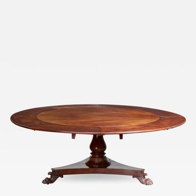 William IV Extending Circular Table by Johnstone and Jupe