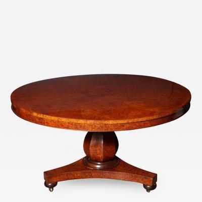 William IV Round Centre Table