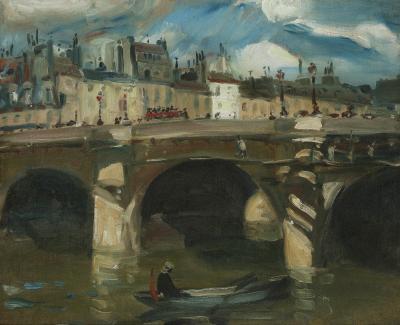William James Glackens The Seine