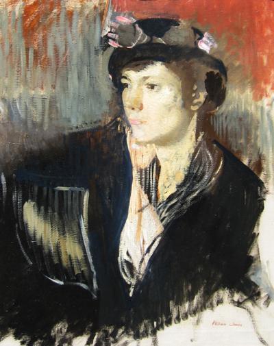 William James Portrait of a Lady