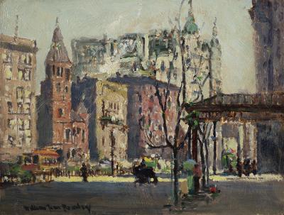 William Jean Beauley 72nd Street and Broadway