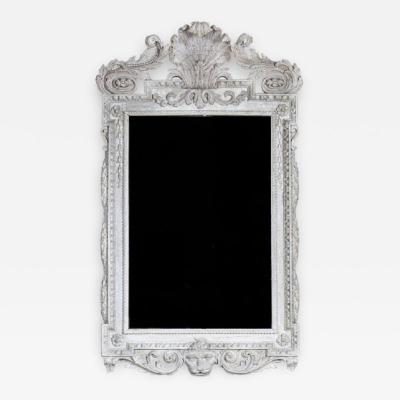 William Kent William Kent Georgian Period White Painted Mirror Looking Glass