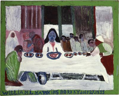 William L Hawkins Last Supper 4