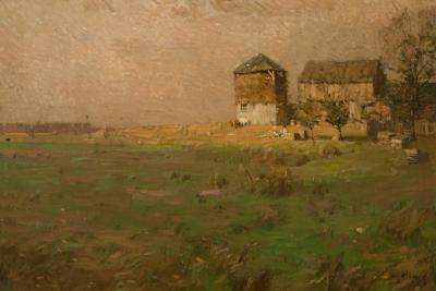 William Langson Lathrop Late Afternoon