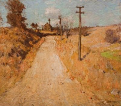 William Langson Lathrop The Lane