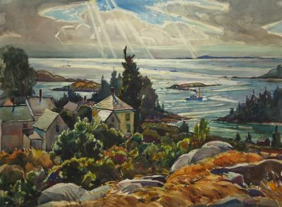 William Lester Stevens Epic of Vinalhaven Maine