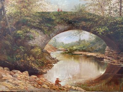 William Livingstone Anderson The Old Bridge