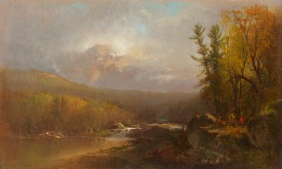 William M Hart In the Country 1865