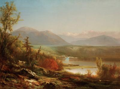 William M Hart White Mountain Scenery