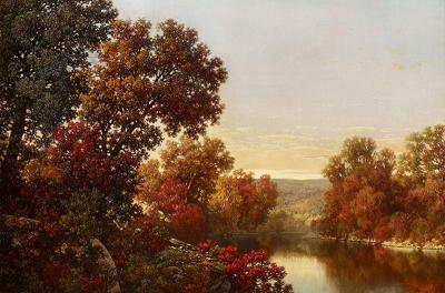 William Mason Brown Autumn Landscape