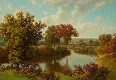William Mason Brown Autumn Reflections