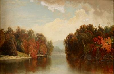 William Mason Brown Early Autumn on the Susquehanna