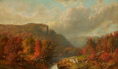 William Mason Brown October in the Blue Mountains