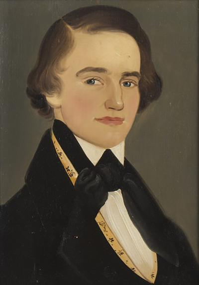 William Matthew Prior Outstanding Portrait of a Handsome Teen Young Man Prior
