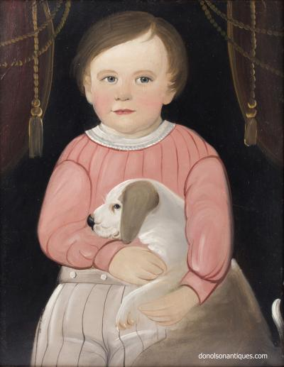 William Matthew Prior The Bond Between J Ely Brown and His Dog William Matthew Prior