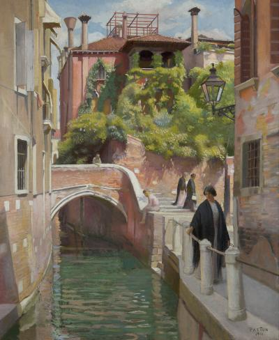 William McGregor Paxton Venice