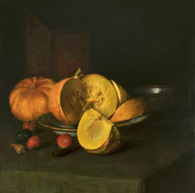 William Merritt Chase Autumn Still Life