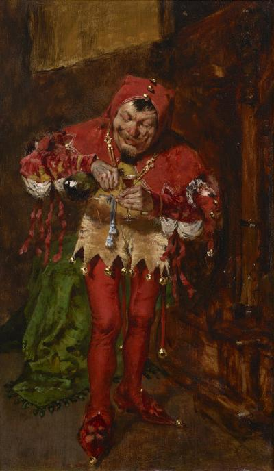 William Merritt Chase The Jester
