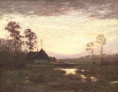William Merritt Post Country Twilight