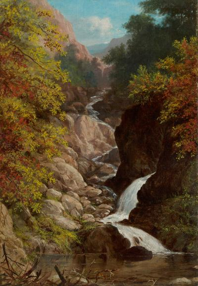 William Rickarby Miller On the Ausable River