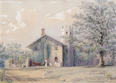 William Rickarby Miller View of Pelham Priory