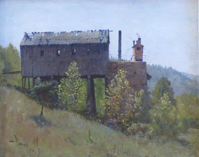 William Robinson Leigh West Virginia Coal Shed