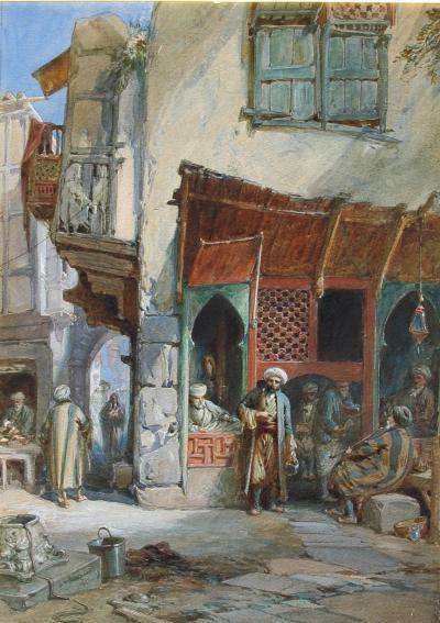 William Simpson Barber s Shop Suez