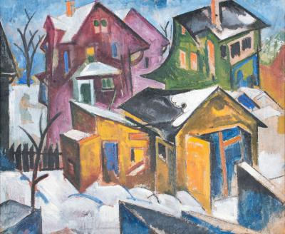 William Sommer Cubist Houses