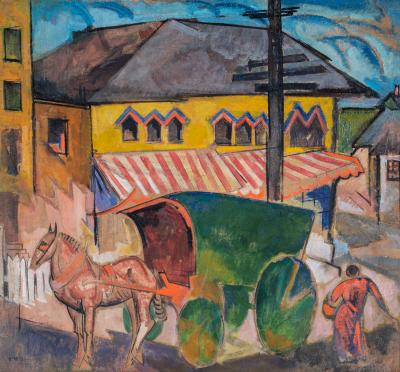 William Sommer Horse Drawn Carriage