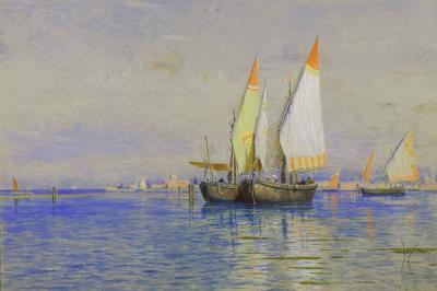 William Stanley Haseltine Fishing Boats Venice