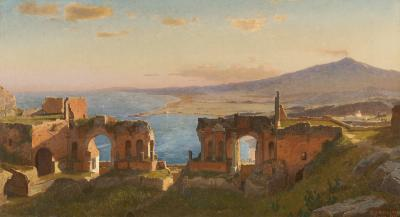 William Stanley Haseltine View of Taormina