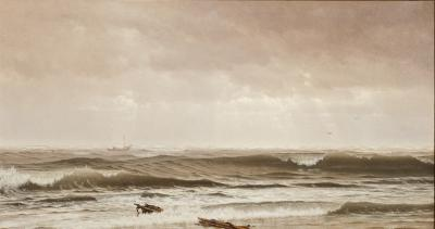 William Trost Richards Along the Shore New Jersey
